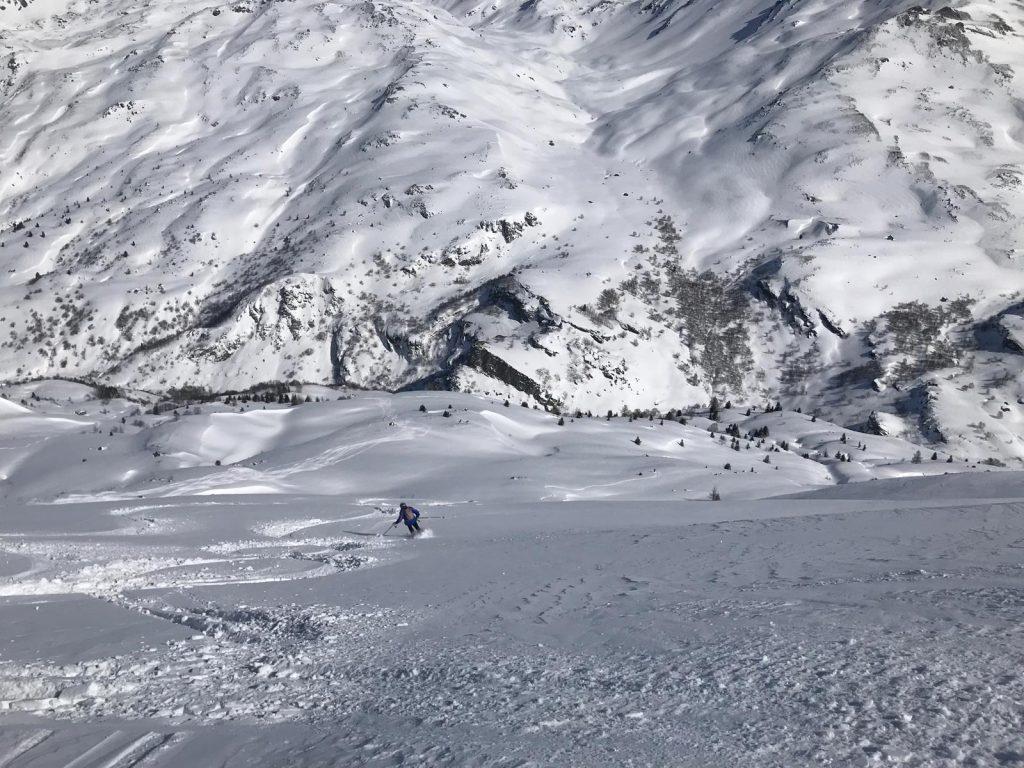 Hors piste lac Vert